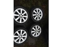 """16"""". Toyota avensis alloy wheels"""