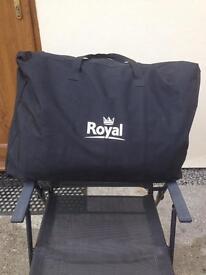 Royal camping wardrobe