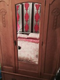 Older Wardrobe has been dipped 19 40 to 50 good condition