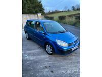 2005 Renault Scenic 1.6 16v Vvt 115 Petrol 7 seater.