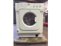 Reconditioned Integrated washer dryer 3 months warranty