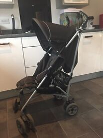 Mamas and papas pushchair with raincover