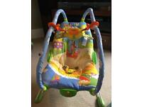 Vibrating Baby Bouncer - Tiny Love