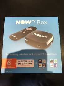 Now TV box 6 months entertainment pack