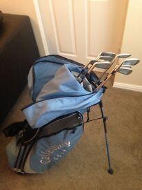 Callaway golf bag with mizuno Mp30 golf irons