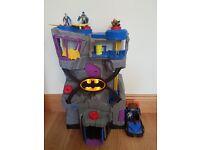 Batman Cave and Car