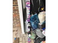 Girls' Atomic skis, 130cm