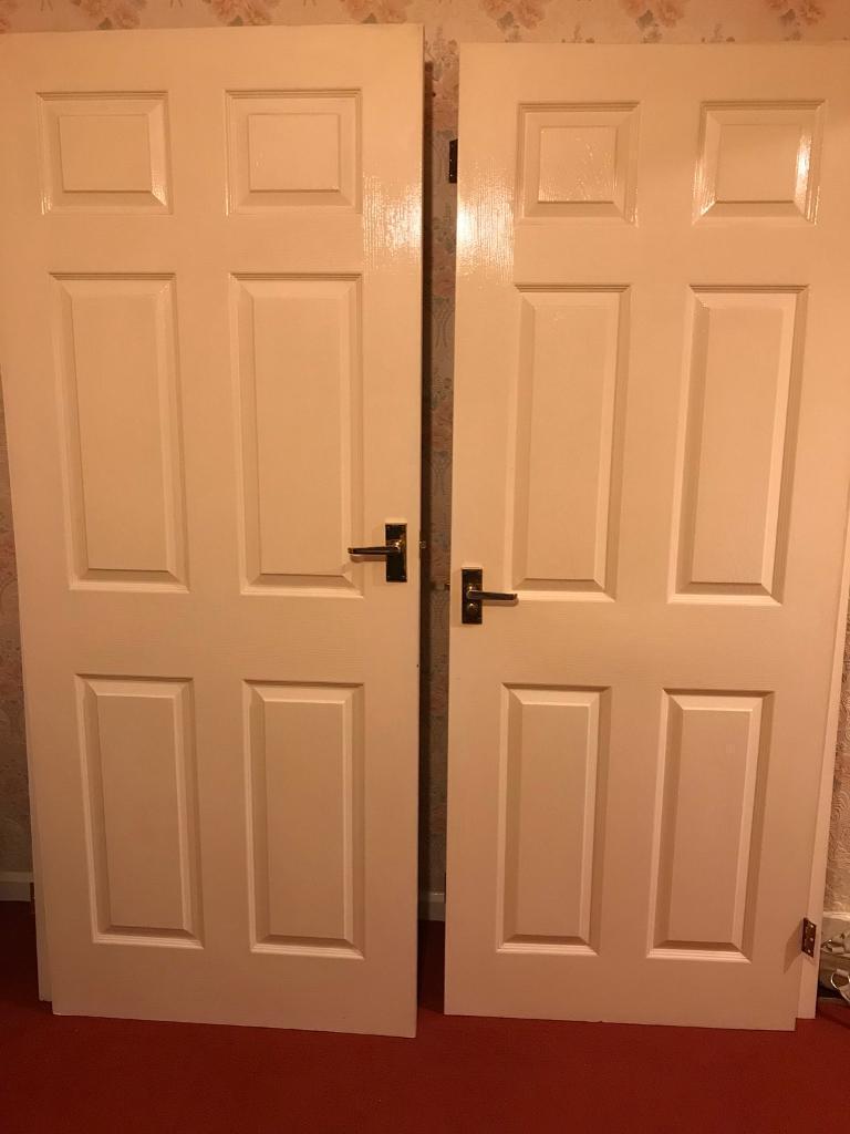 Five internal doors
