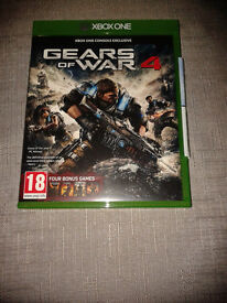 Gears of War 4 + BC game codes for GoW 1, 2, 3 & Judgement