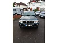JEEP GRAND CHEROKEE LTD 3.0 CRD 2006 - F.S.H. - EXCELLENT CONDITION & LOW MILEAGE FOR YEAR.