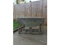 Free to a good home - wooden garden table