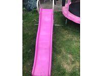 Girls pink slide