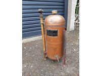 Large Vintage French Copper Garden Sprayer Pulverizer by MURATORI PARIS