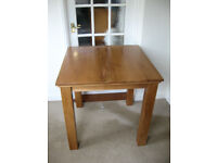 Solid Wood Oak Dining Room Table