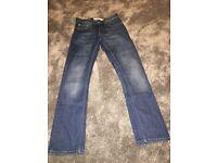 "Gents ""Topman Regular Slim"" Jeans. 28"" Short Length"