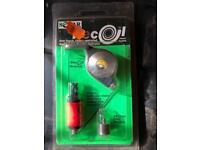Solar recoil retractable indicator