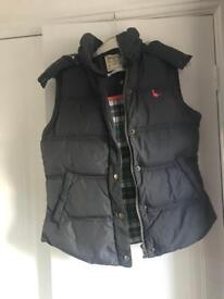Ladies genuine Jack Wills Gilet - Size 10 - Charcoal colour