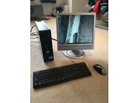 Dell Optiplex 755 PC With Monitor, Keyboard + Mouse - Windows 10, 4GB, Intel Core 2 Duo