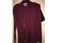 Only and sons slim fit shirt size large