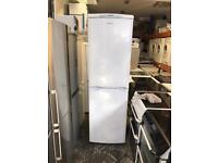 Hotpoint fridge freezer height is 185 m and width is 60 cm