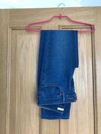 Levi jeans denim blue