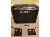 Trace Elliot Tramp guitar tube amp - custom shop includes pedals