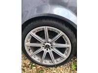 "Audi A4 2001 car/parts 19"" alloys sports spoiler"