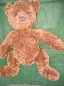Large New Hamleys Brown Teddy Bear