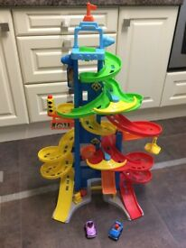 Excellent condition Fisher Price City Skyway (2+ Years)