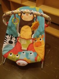 baby bouncer with music and play bar lovely colorfull