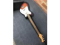 Vintage 1960's Vox Clubman Bass Guitar Sunburst