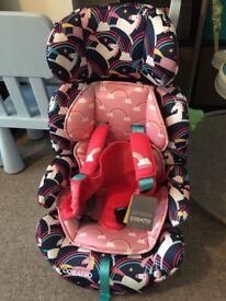 Cosatto Zoomi stage 123 Magic Unicorns Car Seat RRP £134.95
