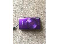 Canon IXUS 265 16.0MP Camera (Purple) & 64GB Memory Card