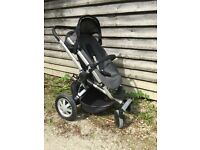 Quinny Buzz Pushchair and maxi cosy car seat