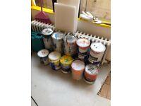 Free gloss and Matt paints