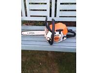 Stihl ms171 chainsaw excellent condition