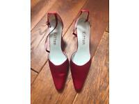 Wedding / Bridal High Heeled Shoes Size 5/5.5 UK