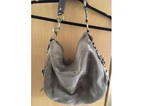 Perfect condition real suede Coach womens shoulder bag