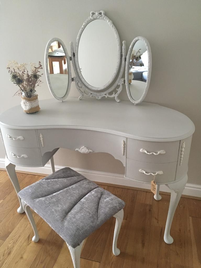 Vintage Upcycled Dressing Table In Crookston Glasgow