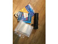 Cathedral Laminator and pouches