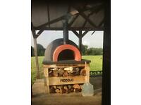 Wood fired pizza oven commercial