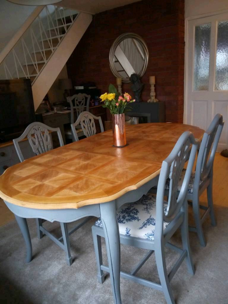 Stunning French Dining Table Chairs Gloucester Road