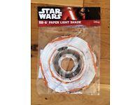 New Star Wars - BB-8 Shaped Lampshade