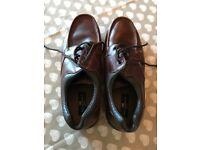 M&S blue Harbour brown tan shoes - Mens size 11 -
