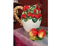 Decorative Strawberry Jug
