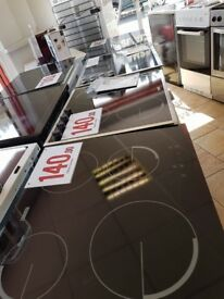zanussi hobs glass top with 6 months warranty inc