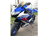 ! ! ! ! ! GREAT CONDITION GSXR 750 K8 WITH LOADS OF EXPENSIVE EXTRAS ! ! ! ! !