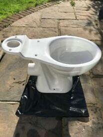 New Back To The Wall Toilet.