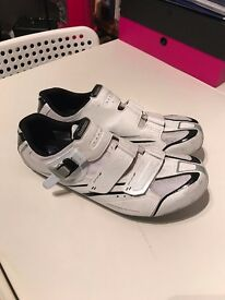 Shimano White Cycling Shoes SH-RO88WE Wide Fit EU48 UK12