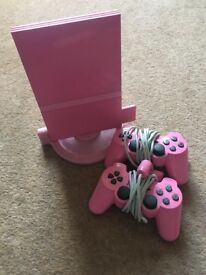 Pink PS2 Bundle For Sale